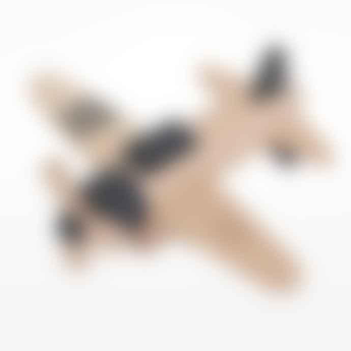 Kiko Wooden Propeller Plane Toy