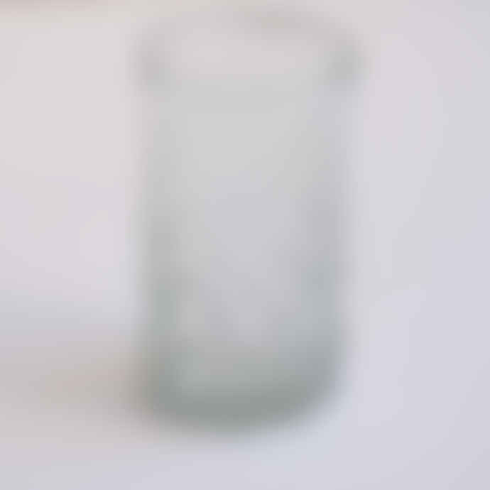 FAIR TRADE Transparent Mouth Blown Bubble Glass