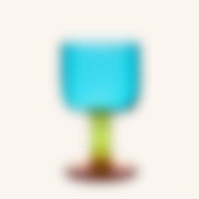 Marimekko  Sukat Makkaralla Stemware Glass 3dl