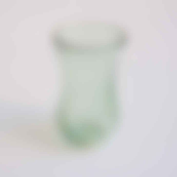 FAIR TRADE Evergreen Art Deco Tea Glass