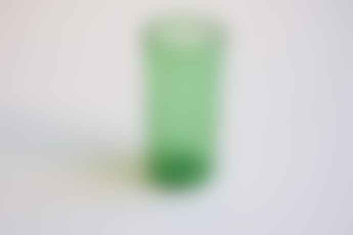 FAIR TRADE Evergreen Mouth Blown Tube Glass