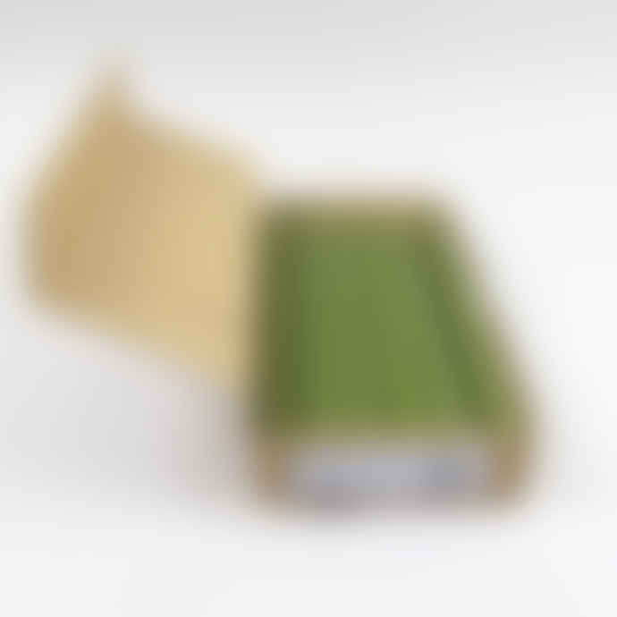St Eval Candle Company Box of 12 Olive Green Dinner Candles