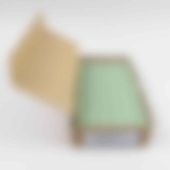 St Eval Candle Company Box of 12 Atlantic Green Dinner Candles