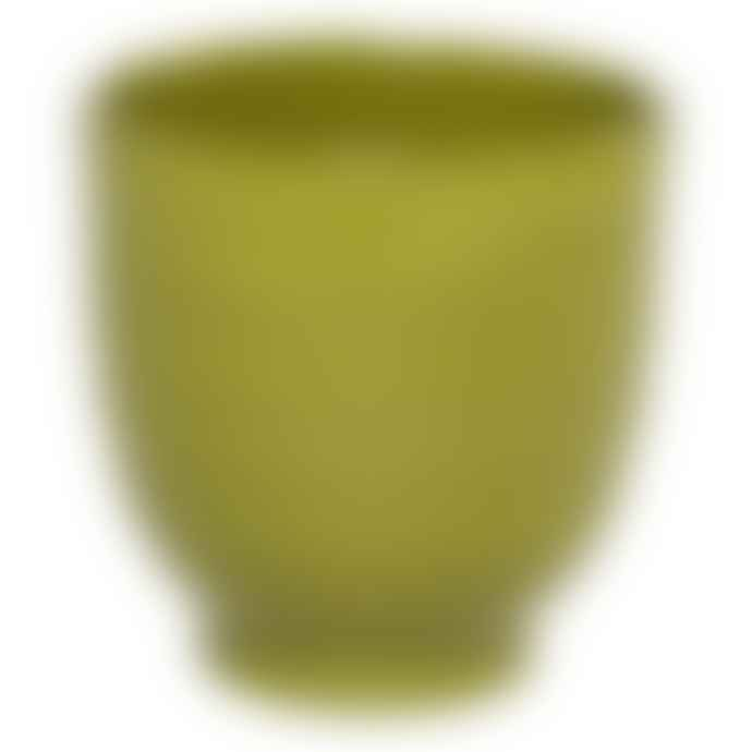 Keep It Living Small Prato Green Ceramic Plant Pot
