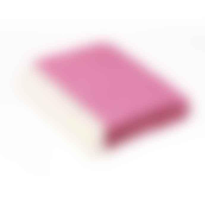 Bronte by Moon Cerise Pink Shetland Herringbone Throw