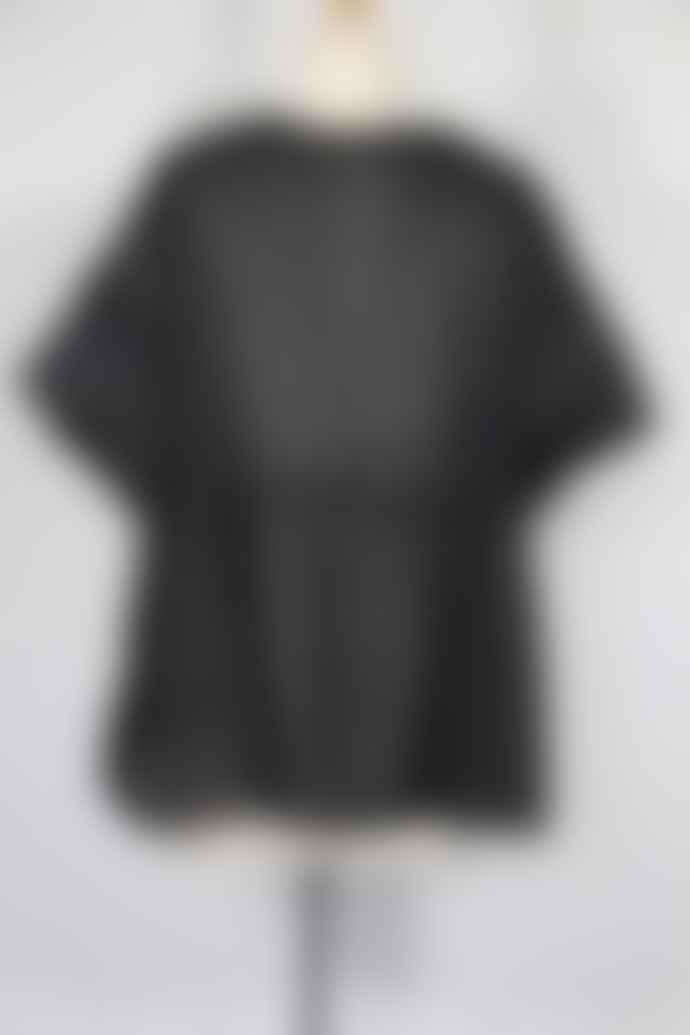 WDTS Black Cotton Top