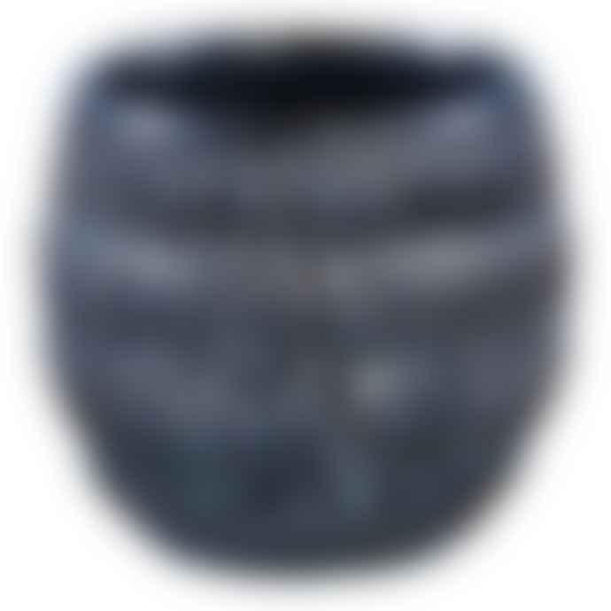 PTMD PTMD Blue Ryer Ceramic Pot