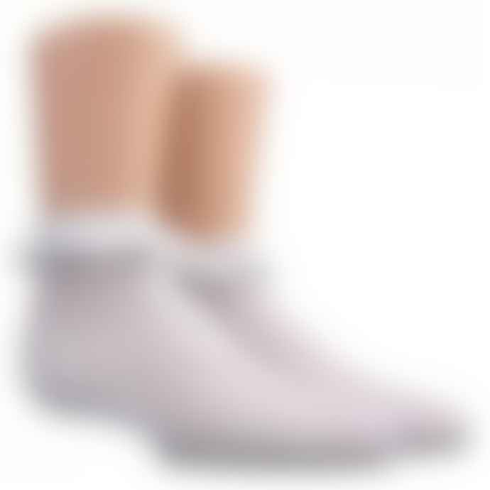 Dore Dore White Ankle Socks