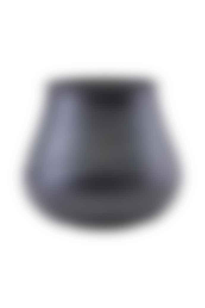 House Doctor Black Stribe Planter Vase