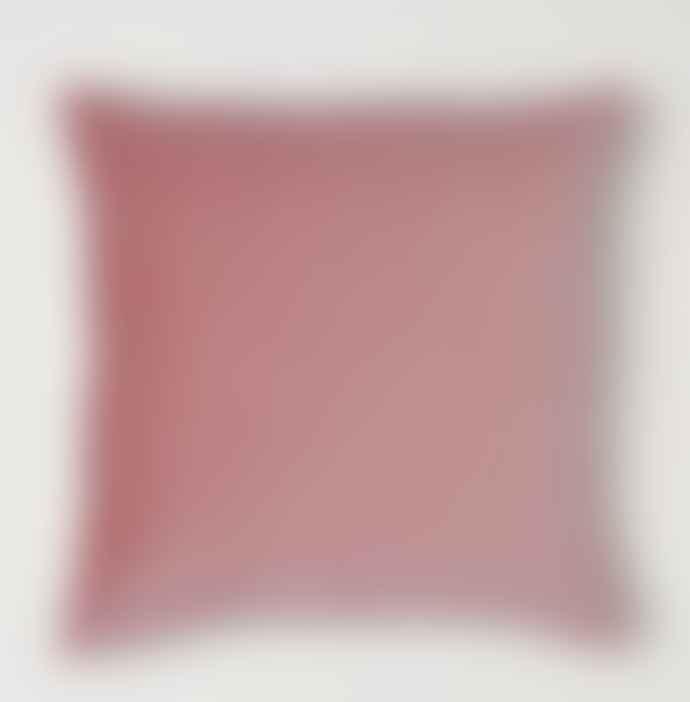 Blush Pink Velvet Feather filled large Cushion