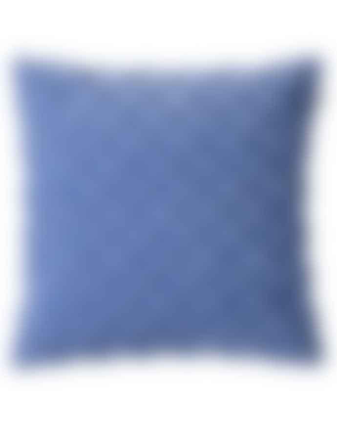 Luma Riviera Blue Velvet Deva Cushion Cover
