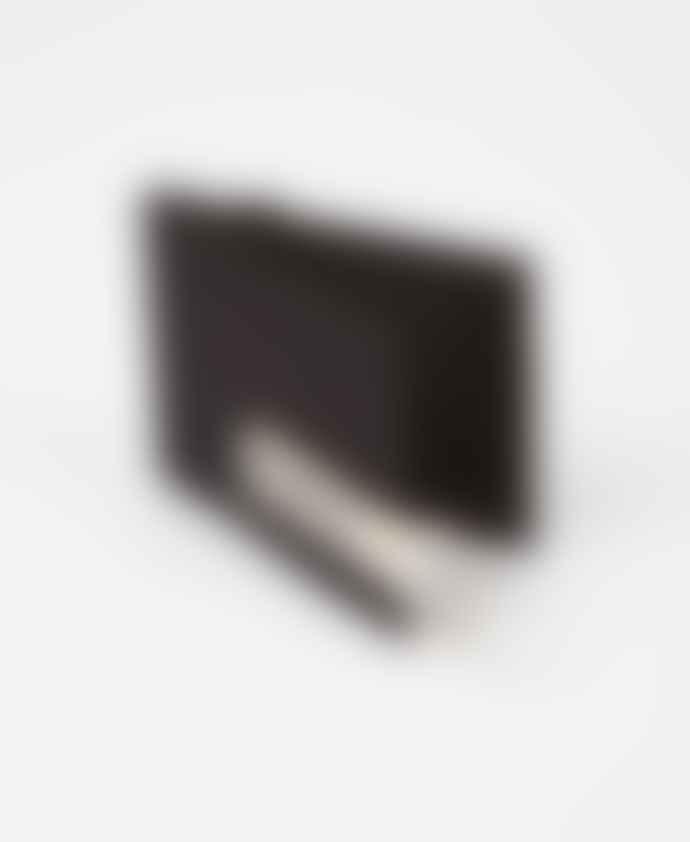 A.P.C. Black Tape Logo Lucky Wallet