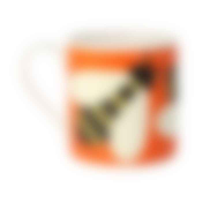 Orla Kiely Orange Busy Bee Lge Mug