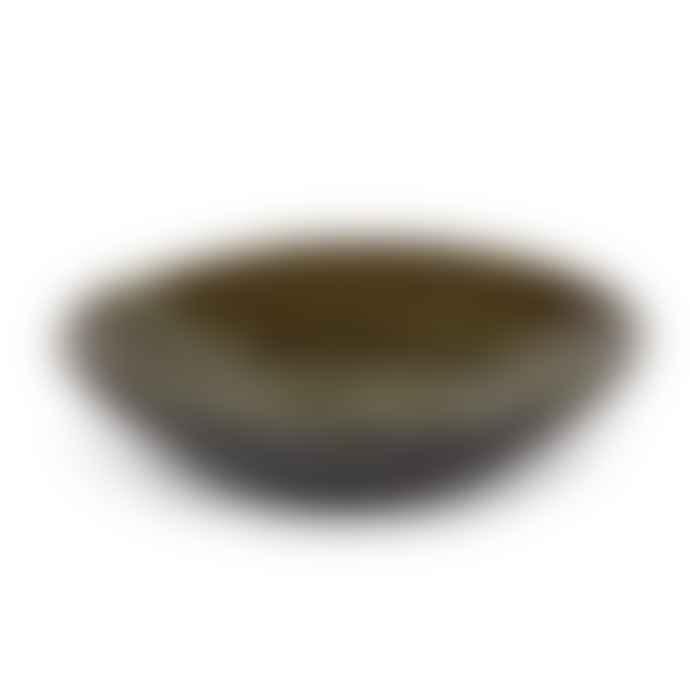 Pascale Naessens Grey Glazed Earthenware Bowl