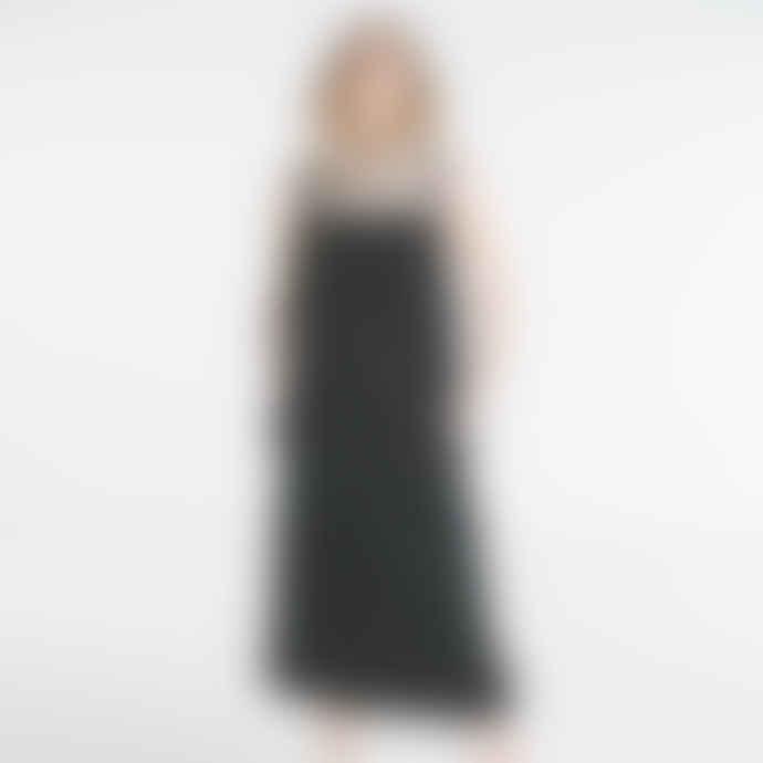 Baserange Black Overall Dress
