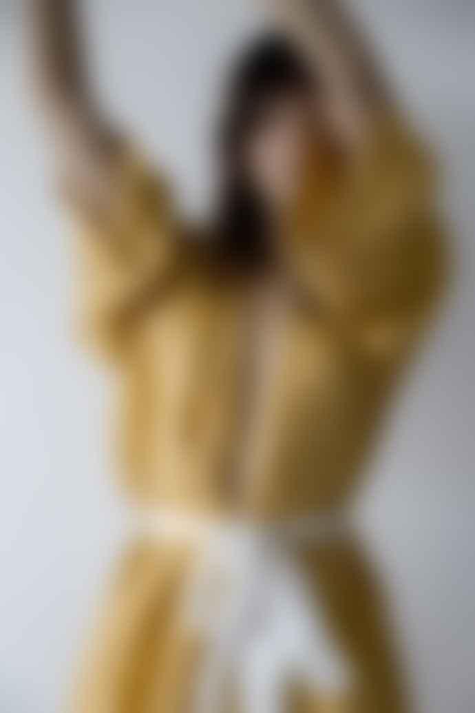 Deiji Studios Mustard Kimono Robe