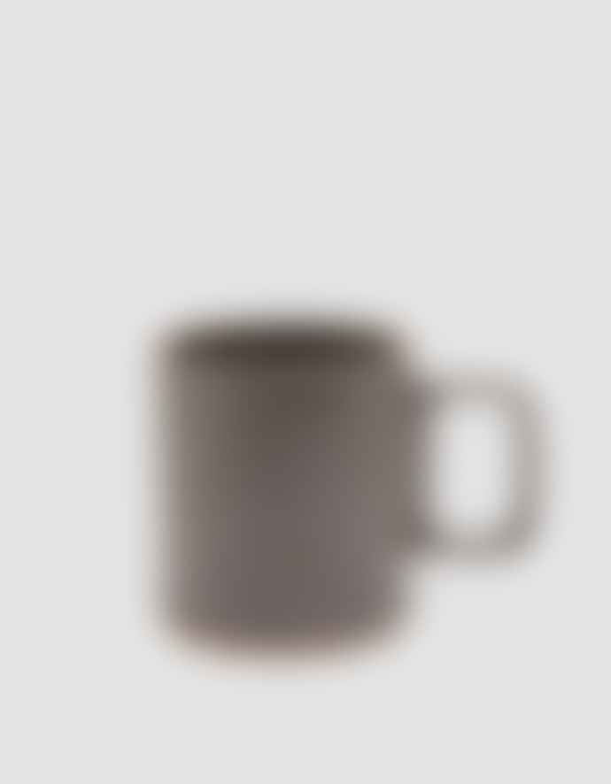 Hasami Porcelain Medium Black Mug