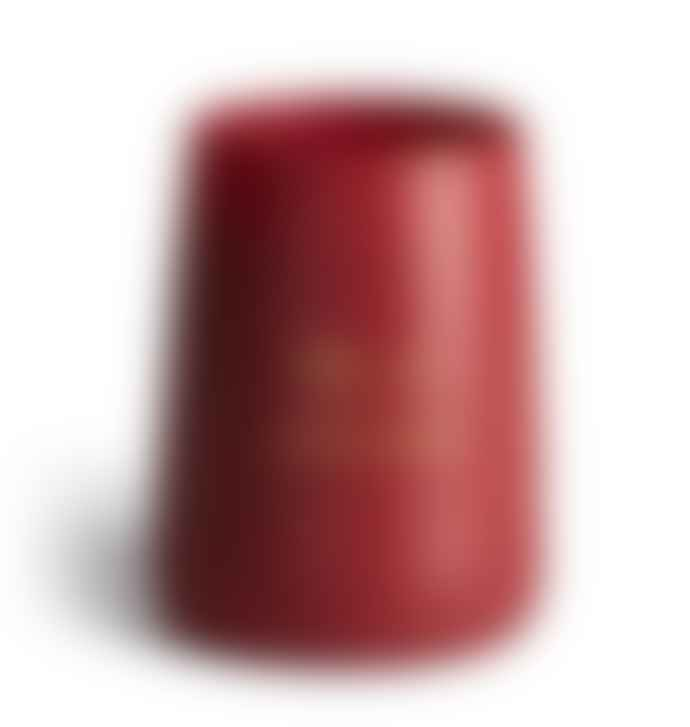 SOH Melbourne Red Matte Glass Freja Scented Candle