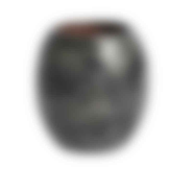 muubs Black Ocean Vase