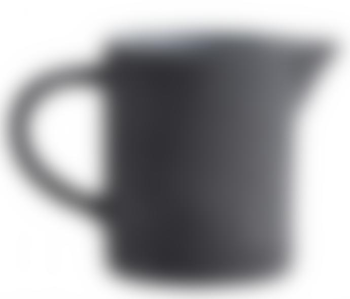 Dark Grey Small Stoneware Jug