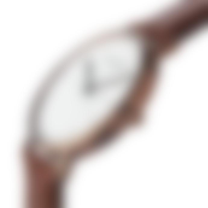 Larsen & Eriksen Copper White Brown 41 mm Absalon Watch