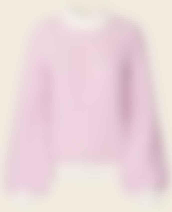 Stine Goya Pink Carlo Knit