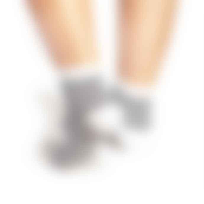 Tracey Neuls White And Navy Popeye Stripes Socks
