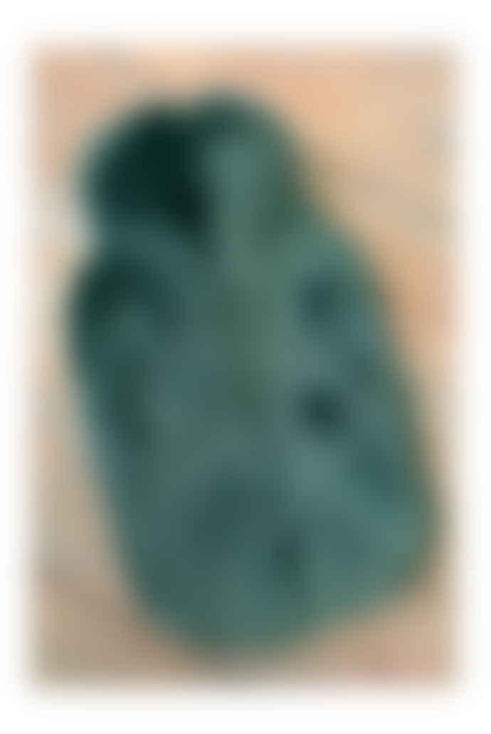 Sea Green Faux Fur Hot Water Bottle