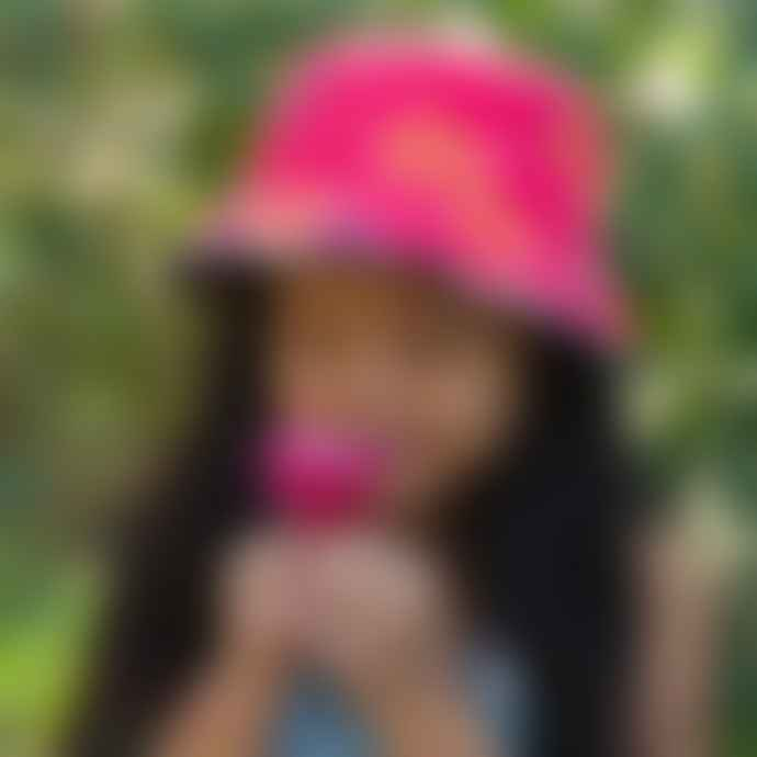 Little Hotdog Watson The Adventurer Hip Pink Sunhat