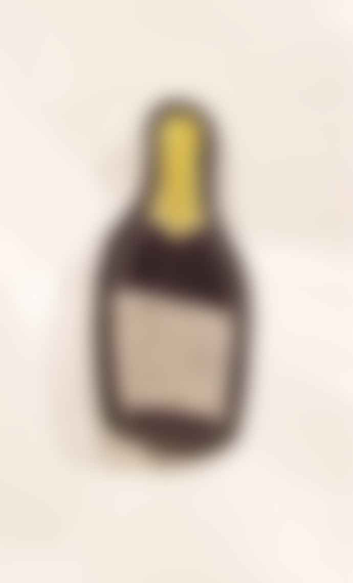 SIXTON LONDON Embroidered Champagne Bottle Pin