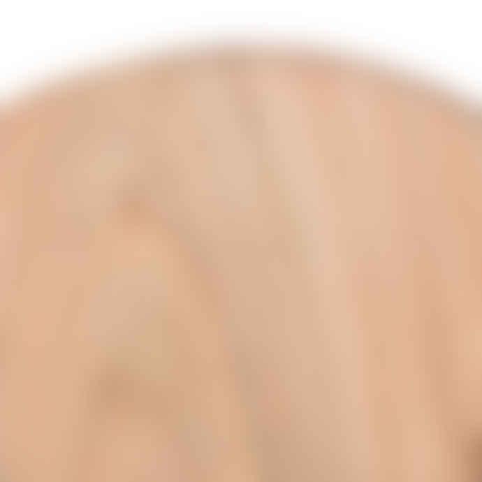 CLAY Mini Round Teak Wood Serving Board