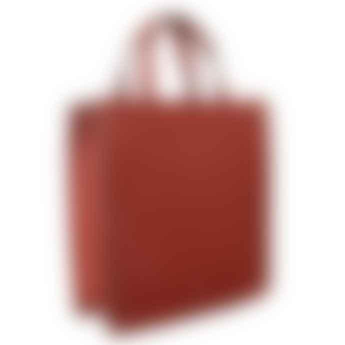 Red Cuckoo Red Stud Tote Bag
