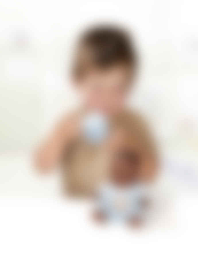Miniland Black Baby Boy Doll