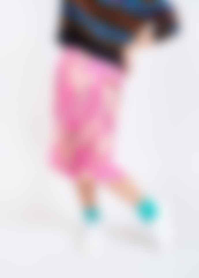 Essentiel Antwerp Bright Pink Floral Silliuam Midi Skirt