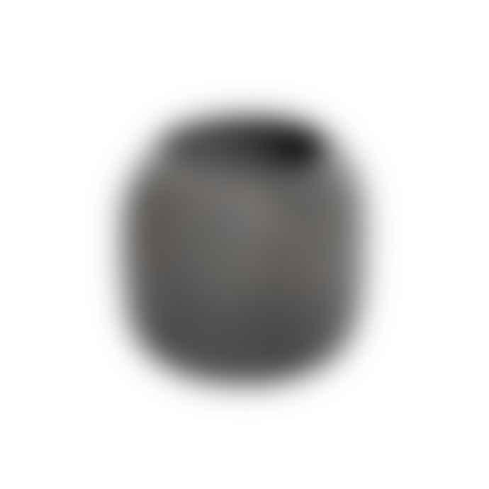Iris Hantverk Dark Grey Soft Concrete High Bowl