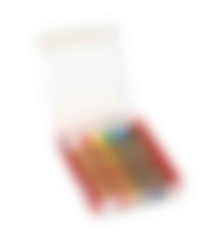 KITPAS Medium Any Surface Crayon 6 Pcs Set