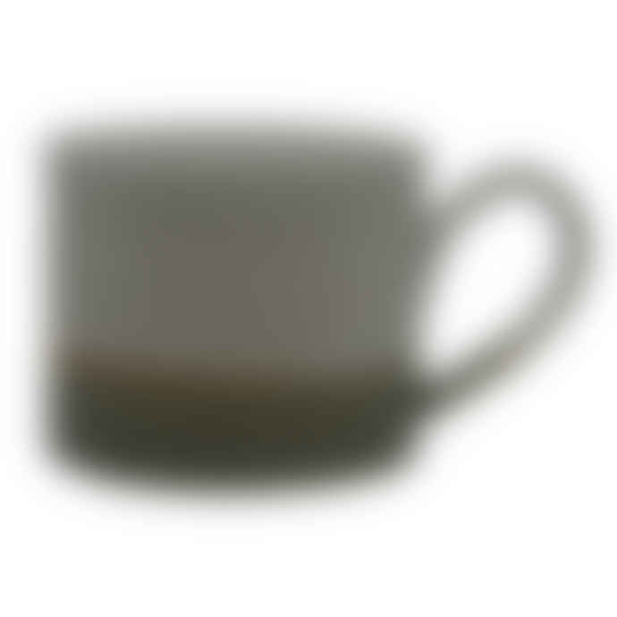 Tim Fenna Green Ceramic Accent Mug