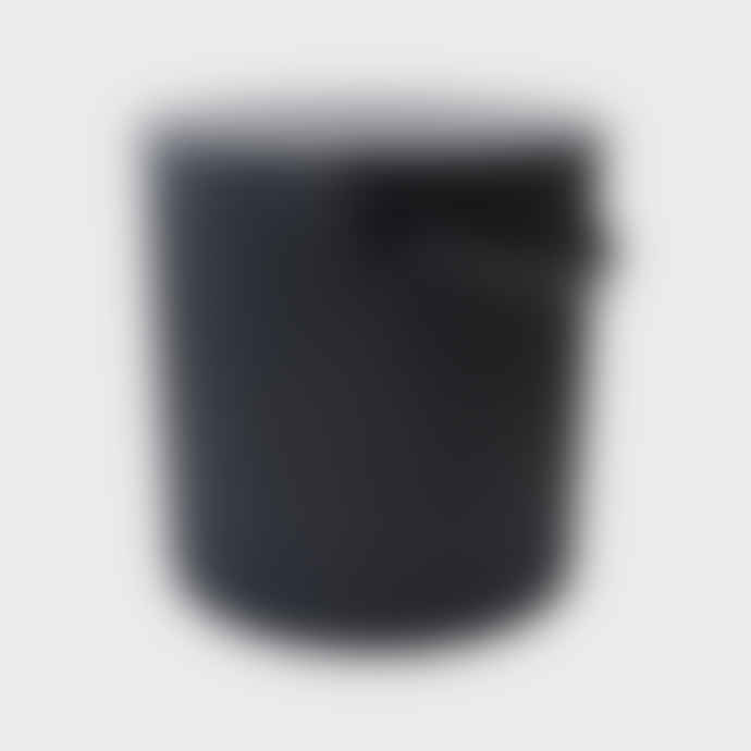 Hachiman Mini Black Lidded Omnioutil Storage Bucket