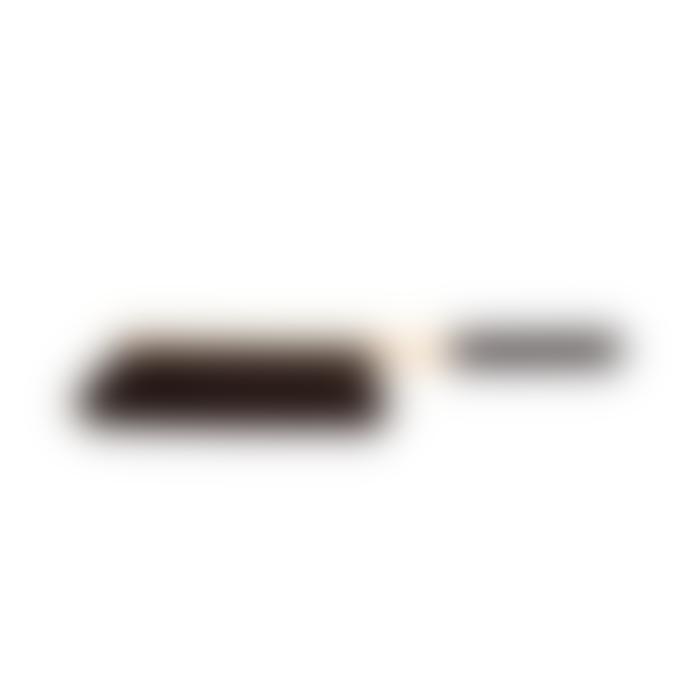 Iris Hantverk Black Handled Broom And Dustpan Set
