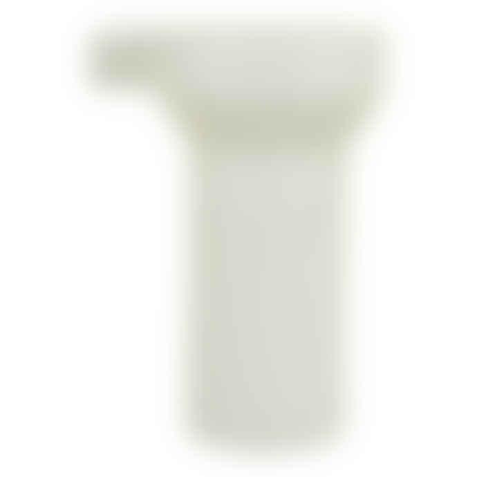 D&M Depot White Angular Small Jug