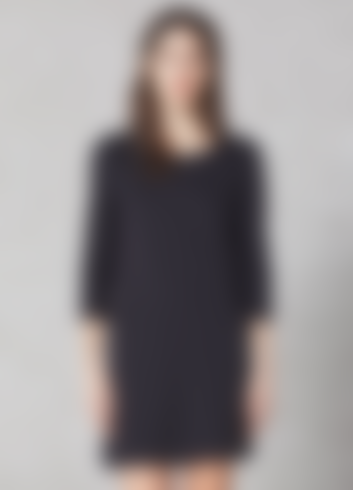 Elvine Black Elina Three Quarter Sleeves Dress