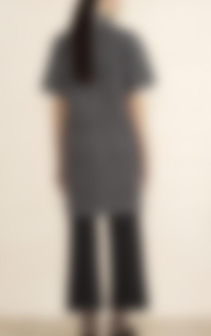 Marimekko  Charlotta Iso Ruutu Check Print Straight Cut Dress