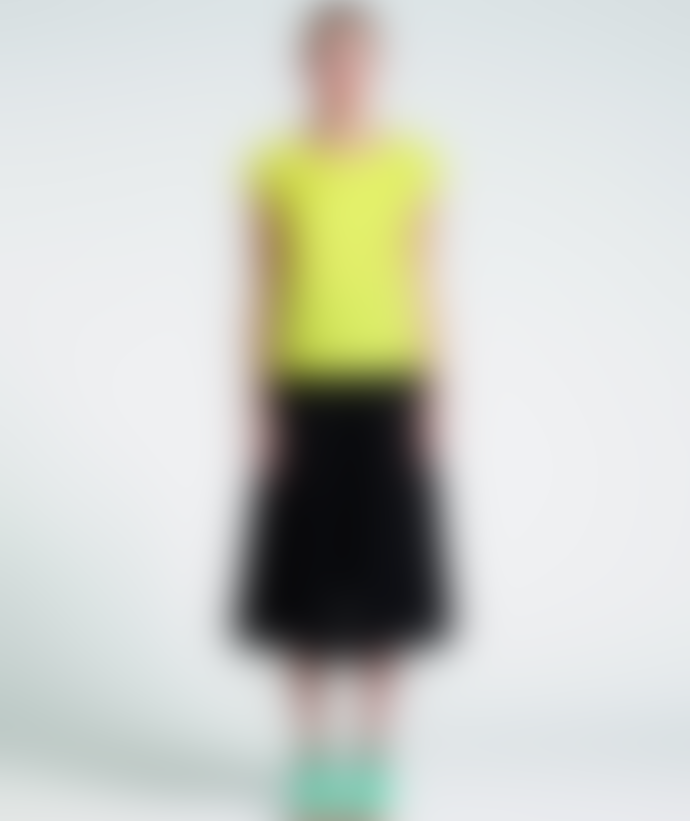 Marimekko  Yellow Siska Straight Cut Linen Top