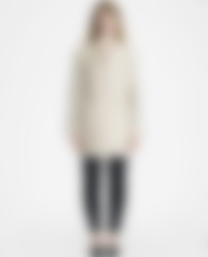 Marimekko  Beige Hele Straight Cut Coat