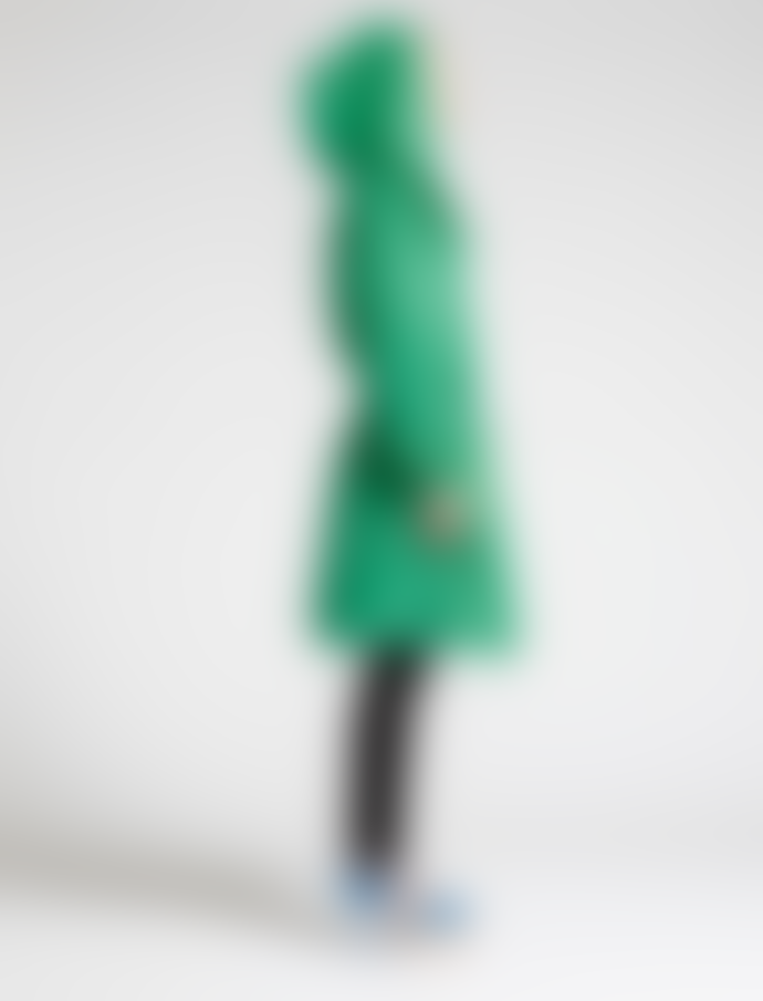 Marimekko  Green Vapaapudotus Parca Coat