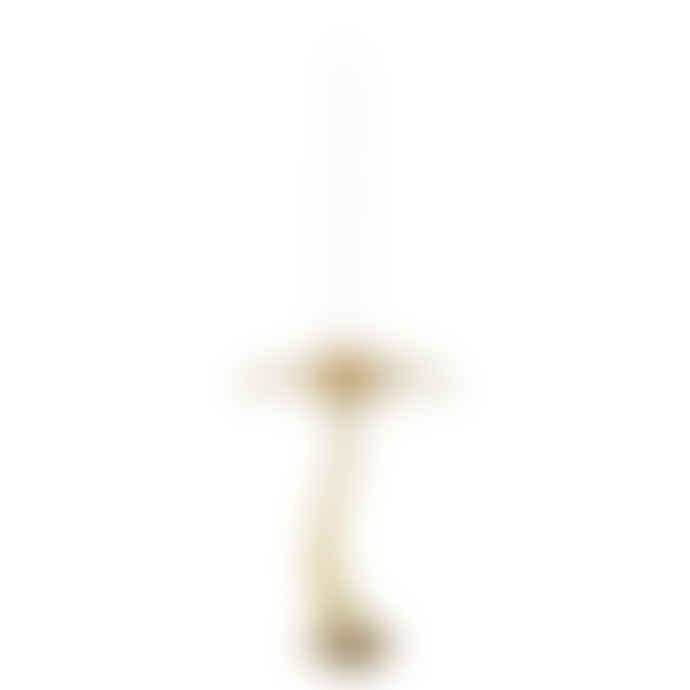 &klevering 3229-01 Large Gold Palm Tree Candle Holder Klevering 12999601