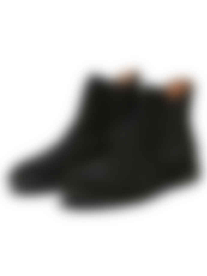 Selected Homme  Black Men Chelsea Suede Boots
