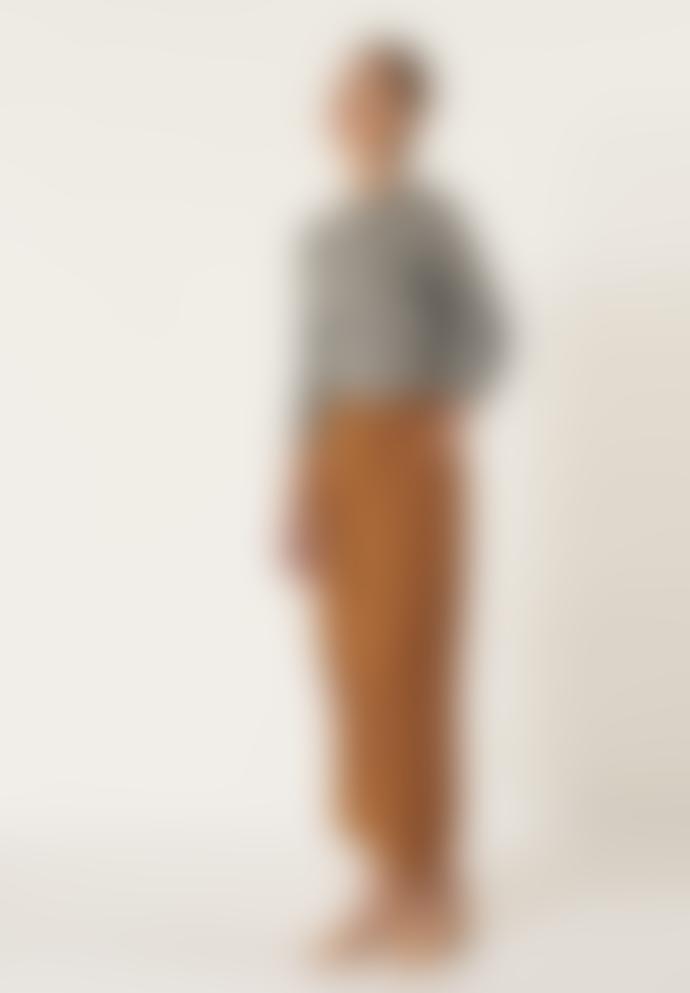 Anecdote Chestnut Phara Wide Leg Trousers