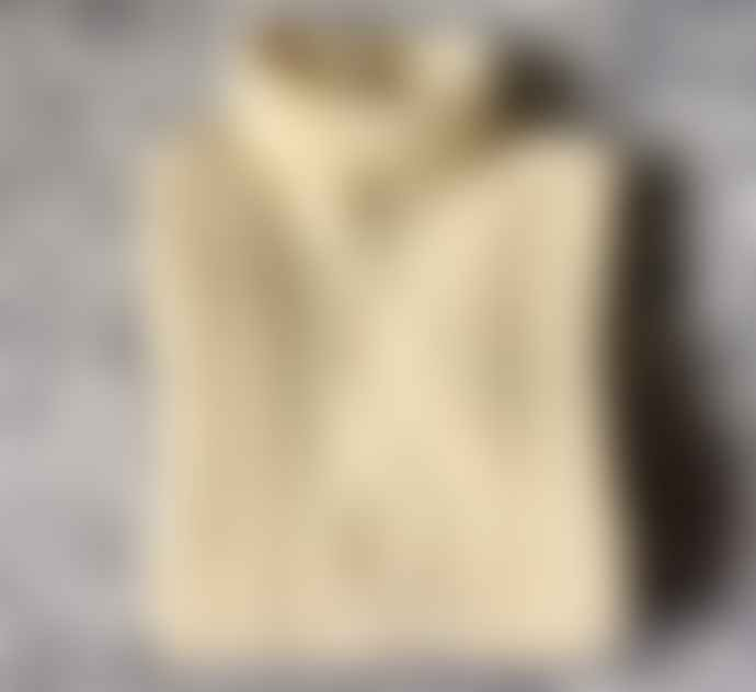 Freight HHG Cream Mens Lambswool Cable Knit Jumper