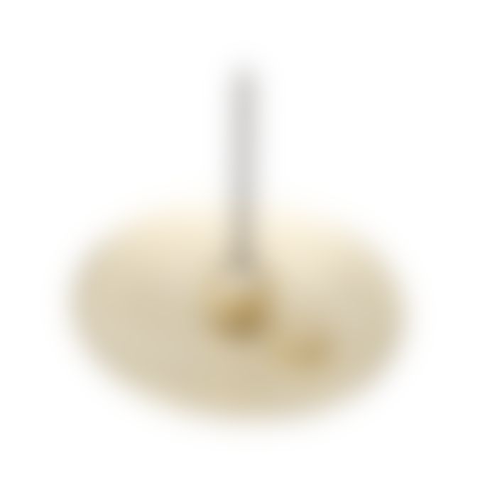 Nousaku Round Brass Incense Stick Holder Set